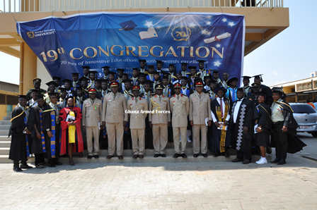 Ghana Armed Forces News Gaf Personnel Attain Atu Certificates